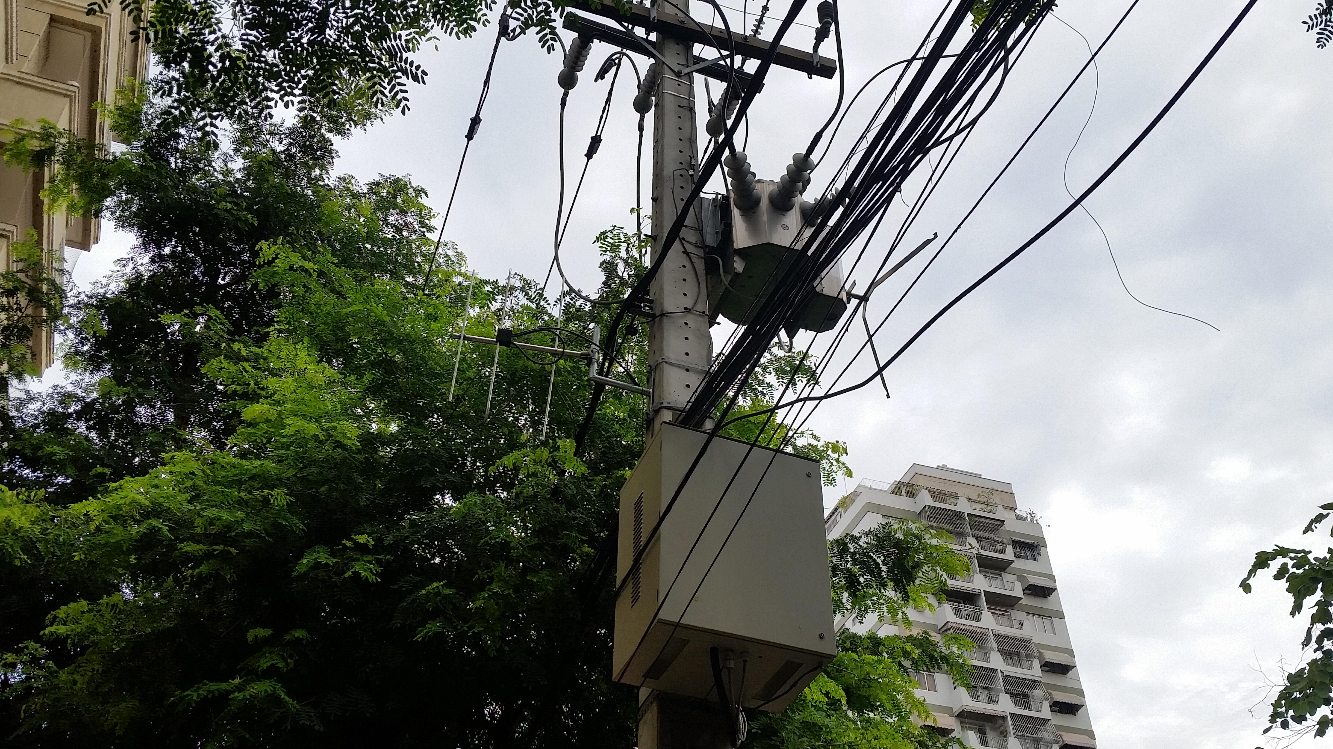 Telemetria aplicada à sistemas elétricos